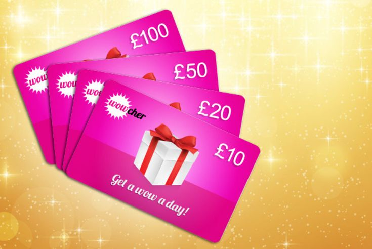 Take a look at the deal I just bought. £10, £20, £50 or £100 Wowcher Gift Card - give the ultimate gift! DELIVERY INCLUDED