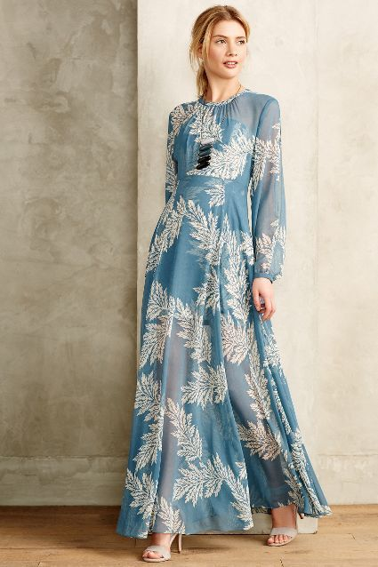 'Conservatoire Dress' from Anthropologie -- love it for a bridal shower!