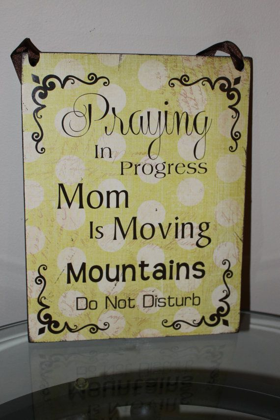 War Room Prayer Room Decor - Perfect gift for that mom who is always lifting her family up in prayer.