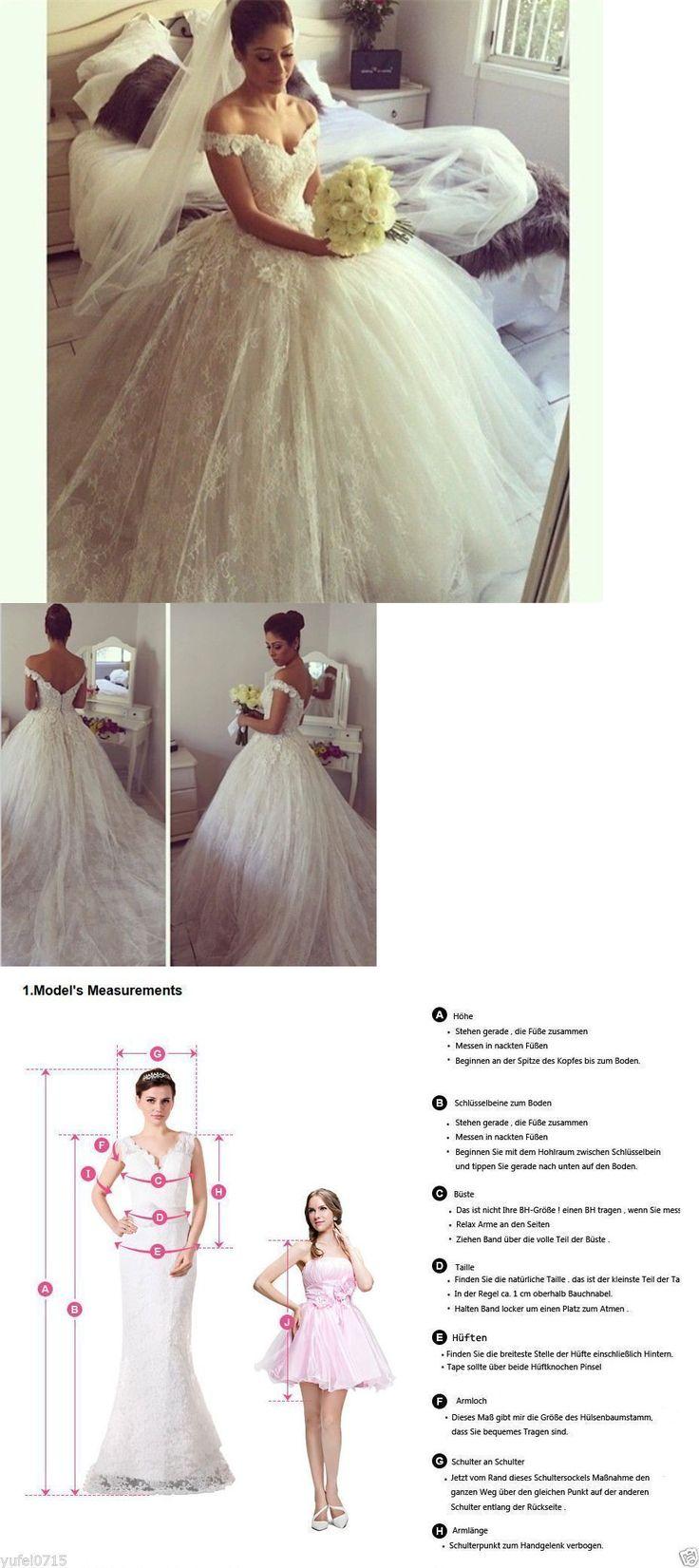 Wedding Dresses: New Bridal Gown White Ivory Wedding Dress Custom Size 4-6-8-10-12-14-16-18+ -> BUY IT NOW ONLY: $155 on eBay!
