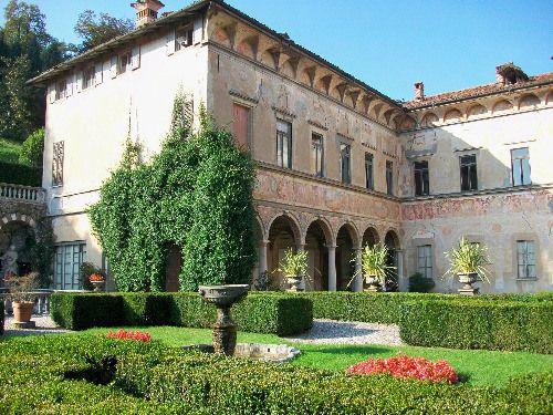 Italian Villas: Villa Cicogna Mozzoni, Bisuschio (VA), Lombardia, Italy