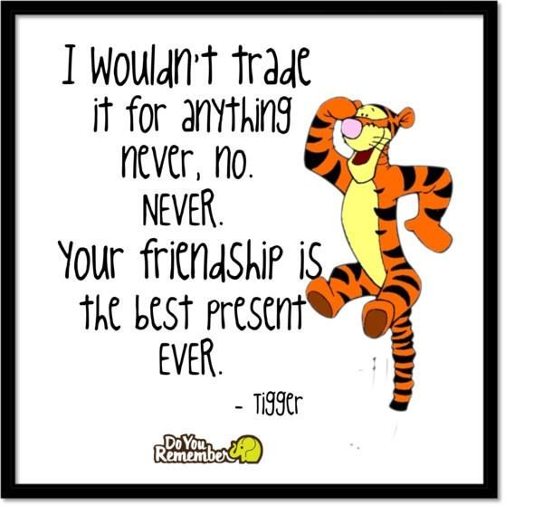Quotes About Friendship Disney : Funny tigger quotes quotesgram