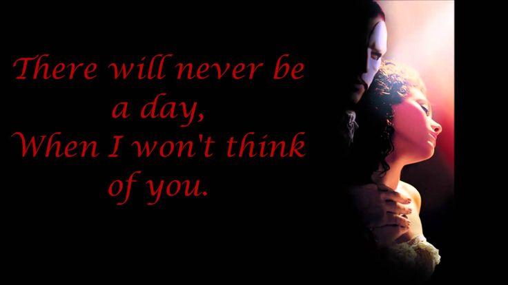 Think of me - Phantom of the Opera [movie w/ Emmy Rossum & Gerard Butler].