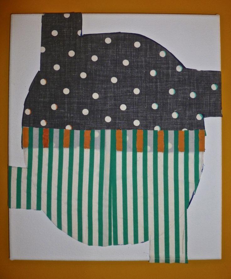 "Rohan Hartley Mills,  ""Appliquéd Fabric"" 2013"