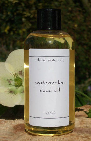 WATERMELON SEED OIL: Watermelon seed oil is also cleansing in nature and removes dead skin, skin secretions from skin pores. In a way it helps prevent acne which are often caused by skin pore clogging. Thus apply watermelon seed oil to your face is a home remedy for acne. Watermelon seed oil is non greasy in nature, so you can apply to your hair. It offers omega fatty acids to your hair and promotes their growth. Gently massaging hair oil to your scalp also helps keep scalp healthy.