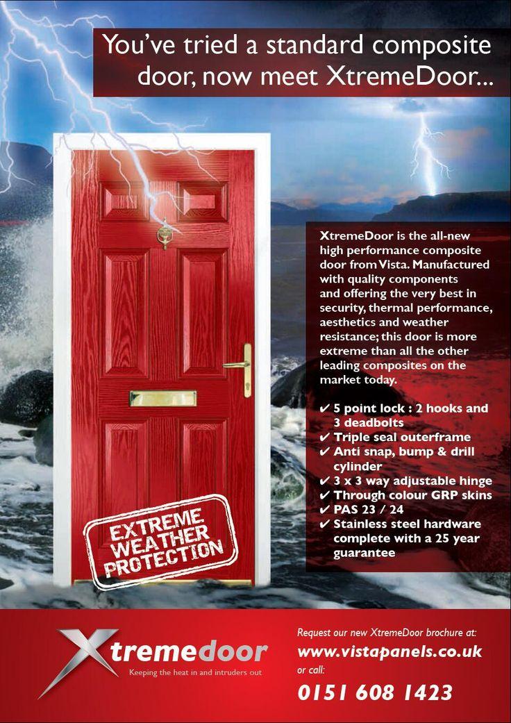 You've tried a standard composite door, now meet XtremeDoor.......