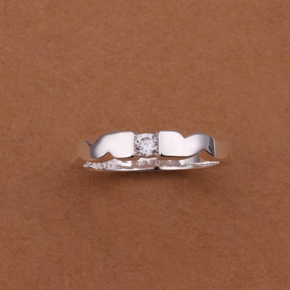 Кольца посеребренная ювелирных изделий кольца 925 мычка изысканный современные женщины мода симпатичный кольцо gggd LSR241