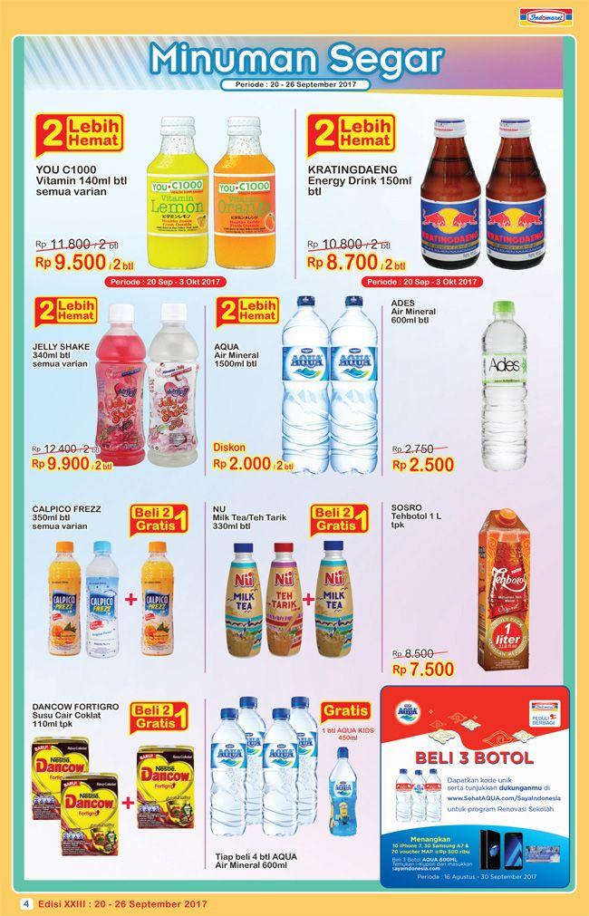 Promo #SuperHemat Minuman Segar  Periode : 20 - 26 September 2017 Info lebih lengkap klik : https://goo.gl/fLnJ4w
