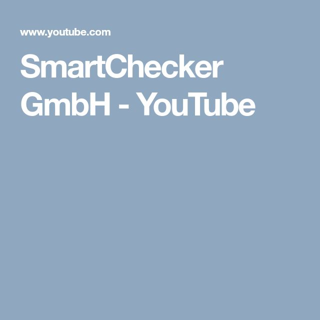 SmartChecker GmbH YouTube 21st, 18th, Sims