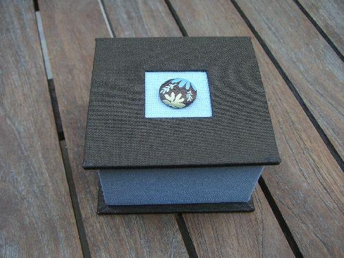 Cartonnage et techniques de base- fiche boîte carrée- L'art et Creation