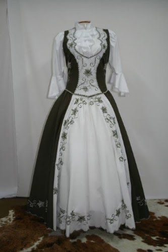 lindos modelos de vestidos para prendas gauchas 2