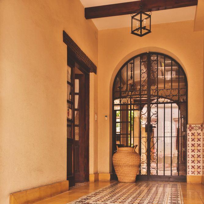Entrada en Villa Vicuña Cafayate