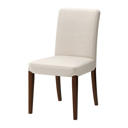 HENRIKSDAL Chair IKEA Seat filled with polyester wadding and high back for enhanced seating comfort.