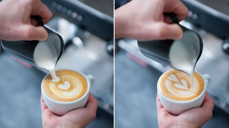 Slik lager du kaffekunst hjemme