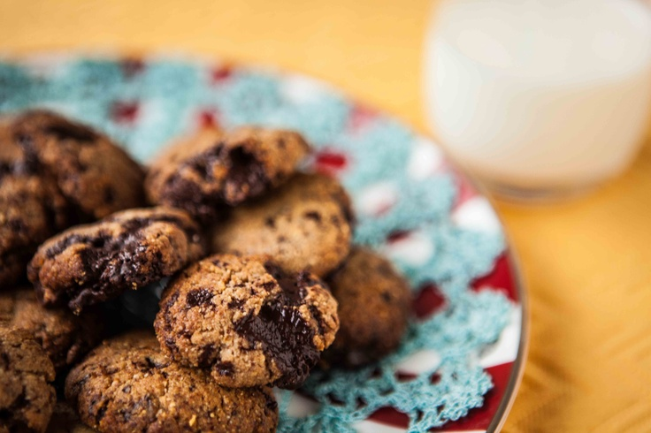 Chocolate chip cookies #eatingwell