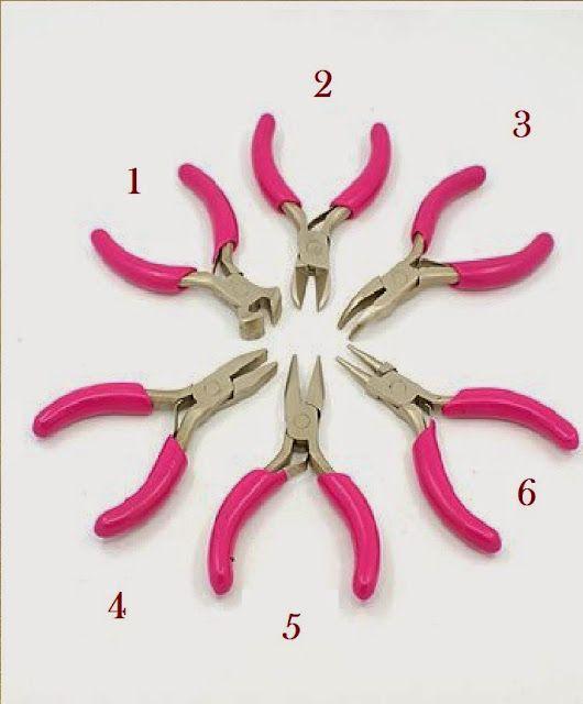 ✿♫❤✎ ✄manualidades de una brujita✄✎❤ ♫✿: Kit de herramientas para bisuteria