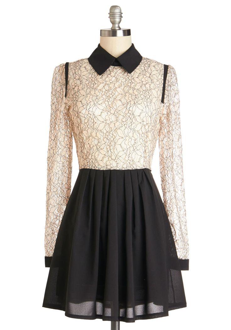 브랜드 뉴 레이스 드레스