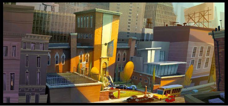 Artes de Kory Heizen para o filme Mr. Peabody and Sherman | THECAB - The Concept Art Blog