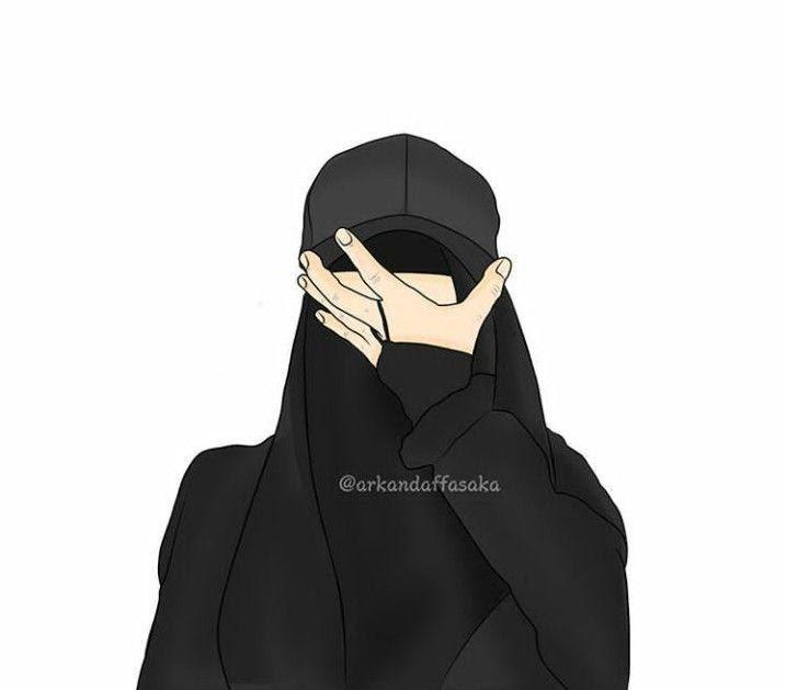 Hijab Gambar Kartun Keren Perempuan Tomboy Ideku Unik