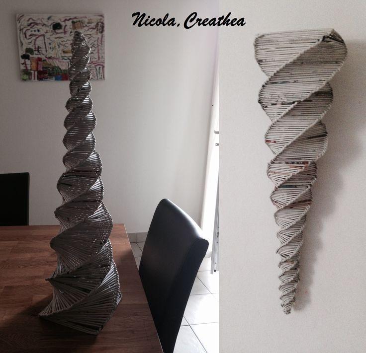 Altezza 81cm,fatto da un bambino di 10 anni.