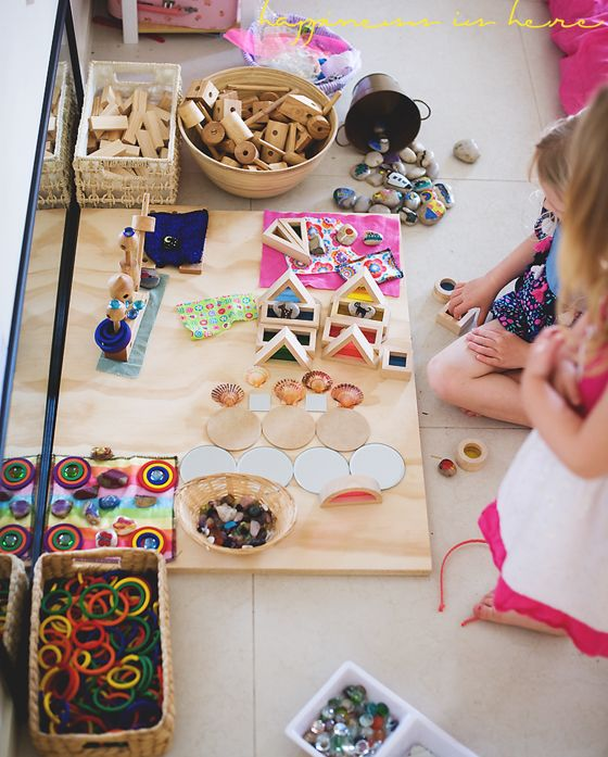 Encouraging Block Play {With Girls}   Happiness is here