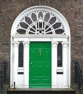 dublin georgian green door -- i want a colored front door & 69 best The Grand Georgian - Front Door (ideas) images on Pinterest ...