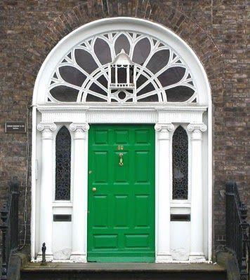 Another marvelous Georgian doorway from Dublin