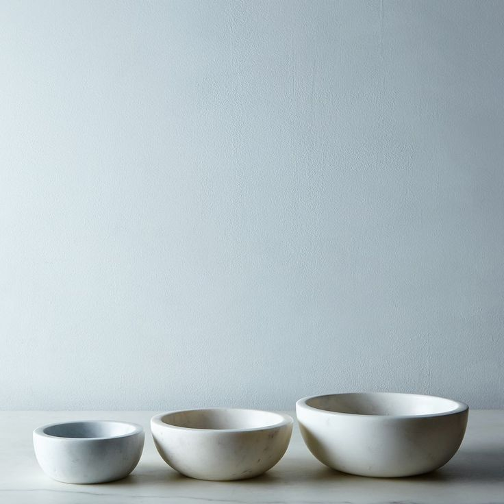Marble Nesting Bowls on Food52