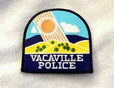 Vacaville California Police Shoulder Patch