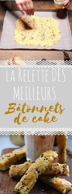 Découvrir la recette du cake en bâtonnets à tremper en vidéo