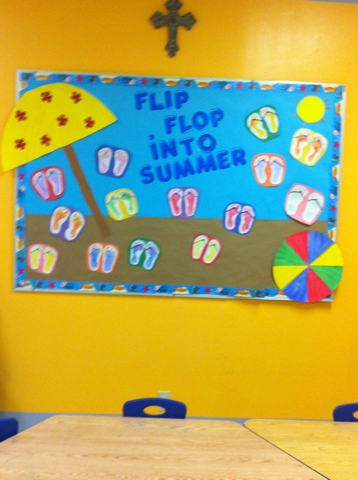 Cute Classroom Decoration ~ Cute for countdown to summer bulletin boards
