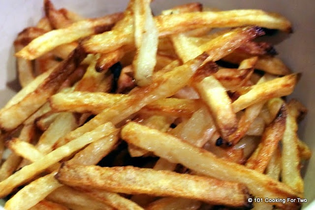 Crispy Oven Baked French Fries | All About Food | Pinterest