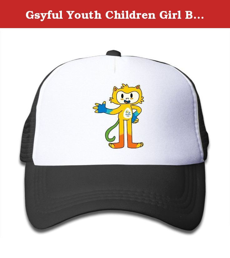 Gsyful Youth Children Girl Boy Kids Custom Summer Rio 2016 Olympics Vinicius Tom Unisex Half Mesh Adjustable Baseball Cap Hat Snapback Black. This Is One Rio 2016 Olympics Vinicius Tom Cap For Youth.Suitable For Any Occasions,like Go To The Kindergarten Or School,a Trip To The Zoo,playing At The Park Or Any Other Outdoor Activities.