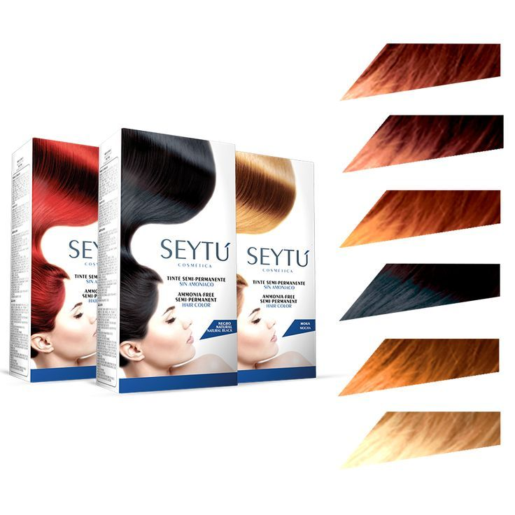 Tintes Semipermanentes. Escoge el color que más se adapte a tu personalidad y luce un cabello radiante.