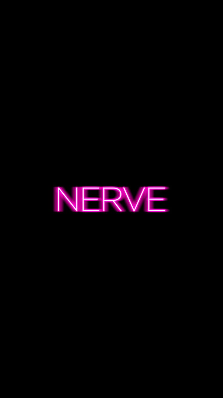 NERVE iPhone wallpaper ~ black and pink
