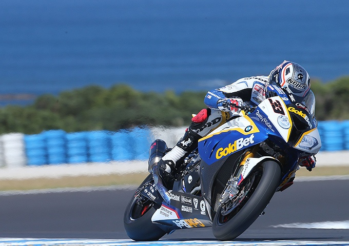 BMW Factory Rider Marco Melandri during first 2013 race in Phillip Island/ Australia. Find out more at http://www.spidi.com