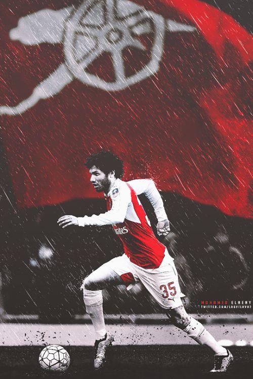 #MOHAMED ELNENY  #ARSENAL FC Once a gooner...