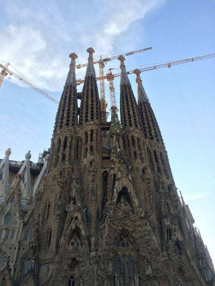 "Here on the famous Sagrada Familia, is a tree built into the intricate architecture of the church. This is the ""Tree of Life,"" which symbolizes humanity that is free from corruption. It makes sense that an important symbol of nature would be a big part of this Church."