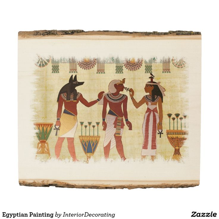 Egyptian Painting Wood Panel