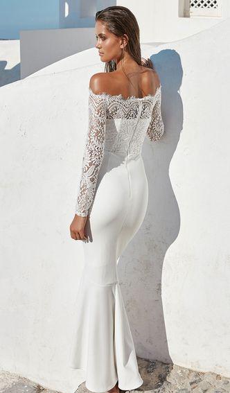 Bílé šaty | Luxusní plavky 2016, luxusní prádlo, luxusní oblečení a další.