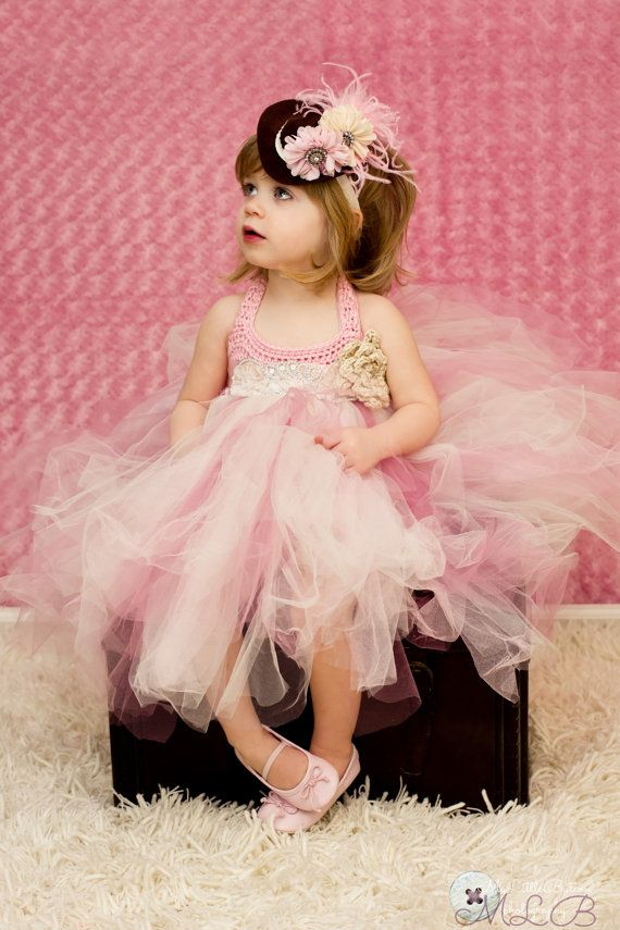 Hey, I found this really awesome Etsy listing at https://www.etsy.com/listing/129352252/girls-tutu-dress-pink-ivory-pageant