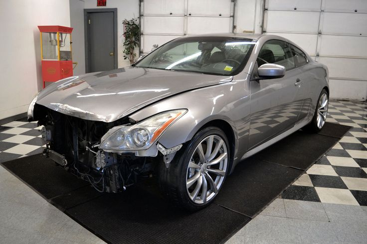 2008 Infiniti G37 S Coupe Damaged Wrecked (With images