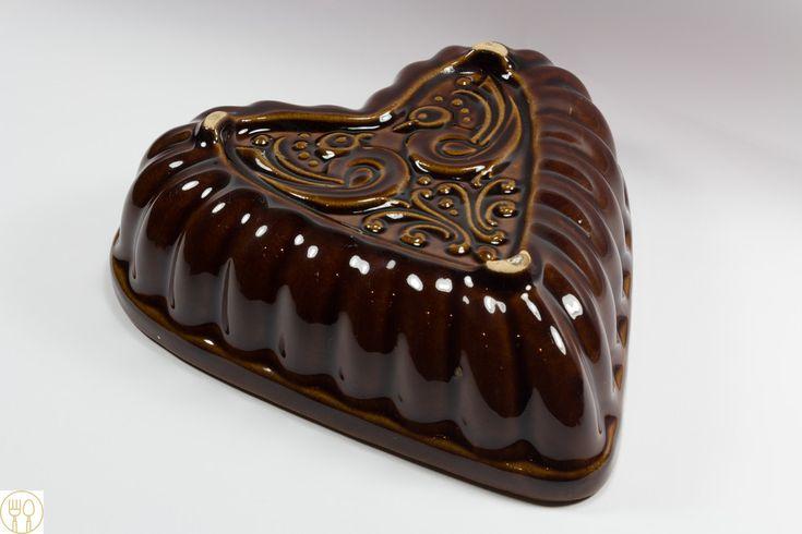 Backformen - Schöne Backform, Keramik, Herz - ein Designerstück von Loeffelland bei DaWanda