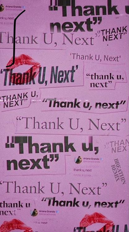 Thank you next 💋 | My UNIQUE Thing´S | Next wallpaper, Ariana Grande e Ariana grande wallpaper