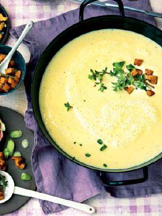 Rezept: Sarah Wieners Kartoffel-Pastinaken-Suppe