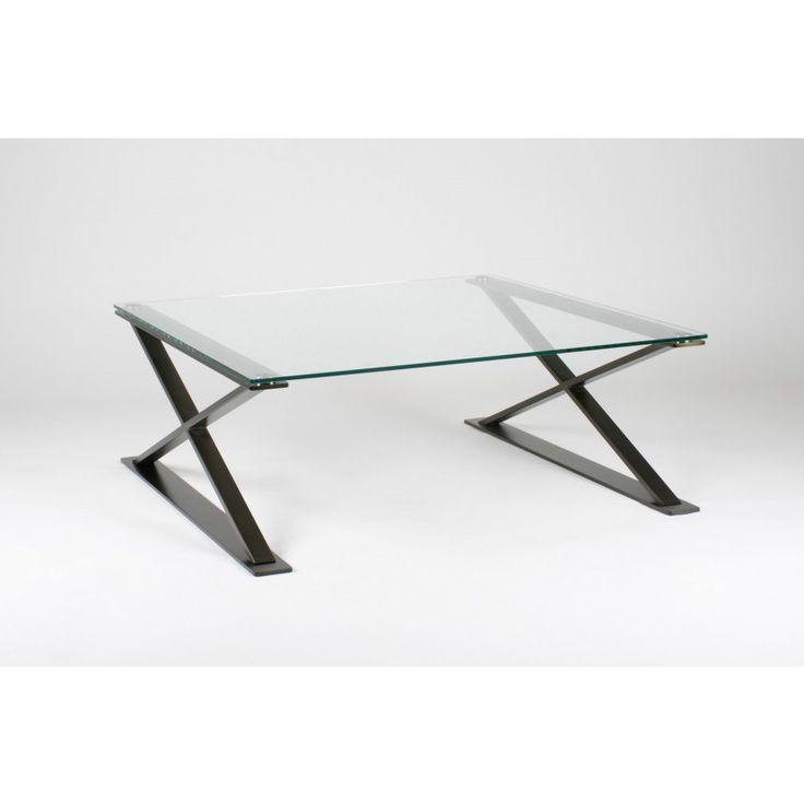 glazentafel.com | De stijlvolle salontafel Verona is voorzien van gehard glas en is verkrijgbaar in vier verschillende maten. Deze design salontafel met 2 x-vormige poten heeft een helder blad met een frame verkrijgbaar in de kleuren: brunito, chroom of roestvrij staal (RVS).