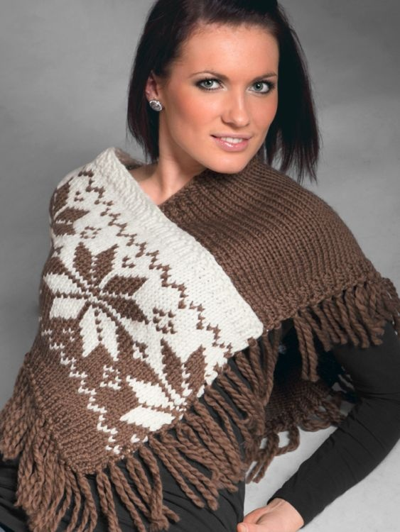 Poncho  #vikingofnorway #knittingroom #stickat #garn #poncho