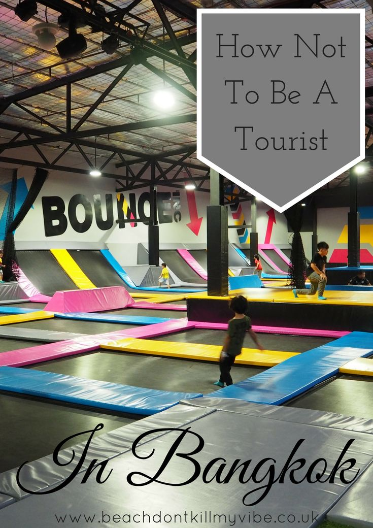 We've all heard about what to do in Bangkok as a tourist, but did you ever consider going trampolining? DO IT!  #thailand #bangkok #solotravel #backpacking #traveller