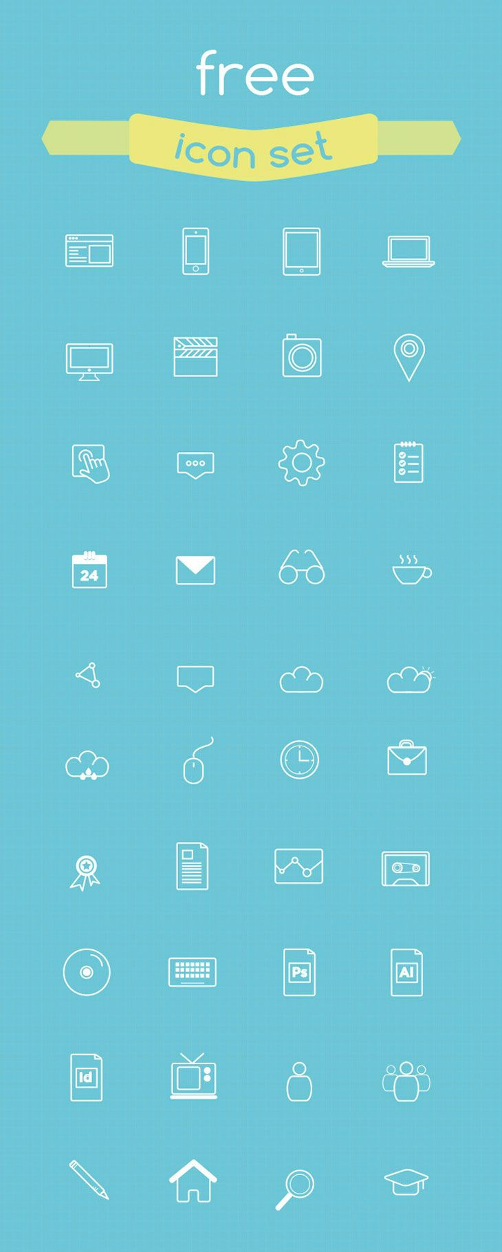 Free Icons for Web and User Interface Design # 8