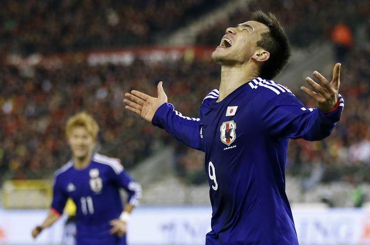 Shinji OKAZAKI(1. FSV Mainz 05) celebrates the goal. 2013.11.19